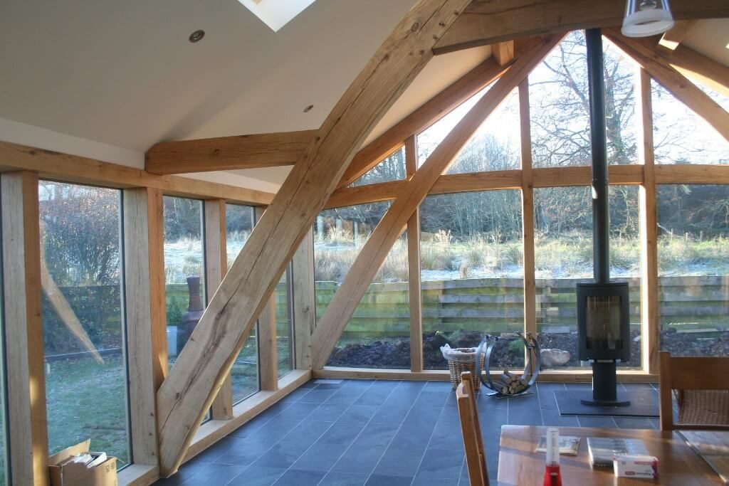 Cruck frame extension in Netherley (4)