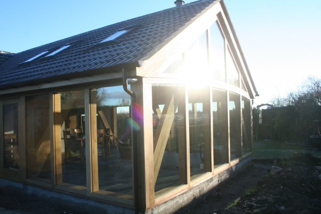 Cruck frame extension in Netherley (7)