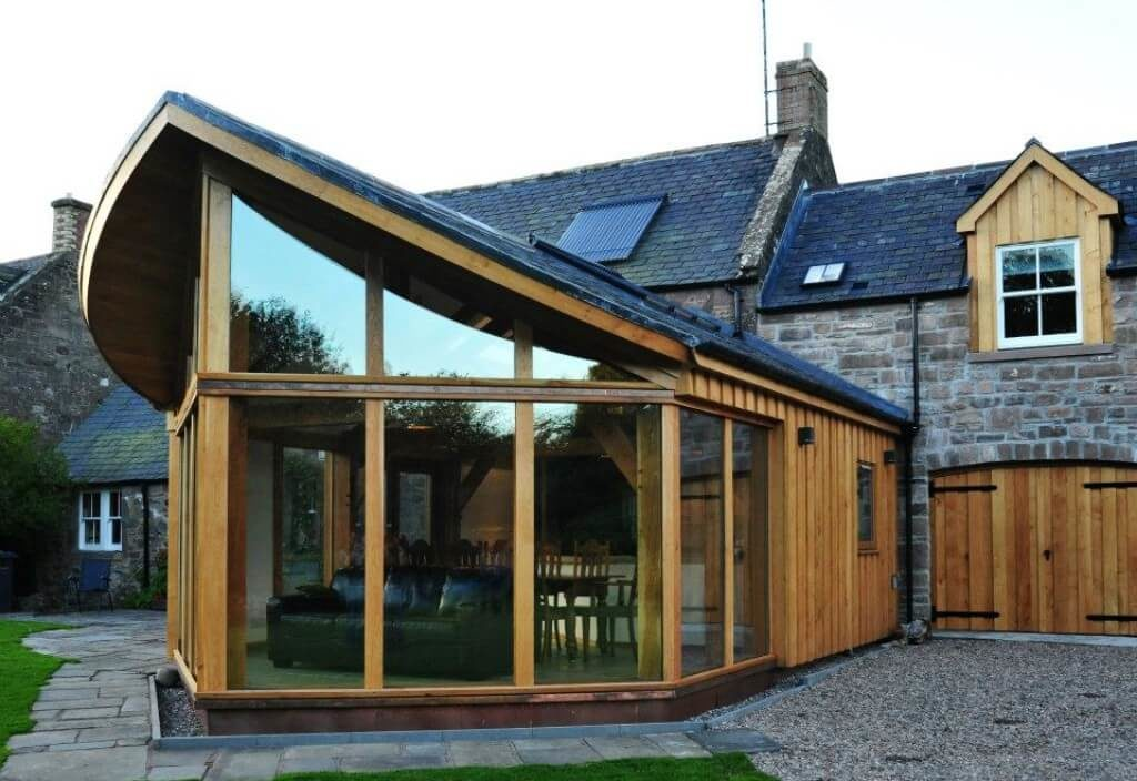 Extension in Brechin, best use of Timber award (1)