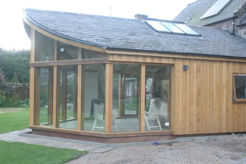 Extension in Brechin, best use of Timber award (12)