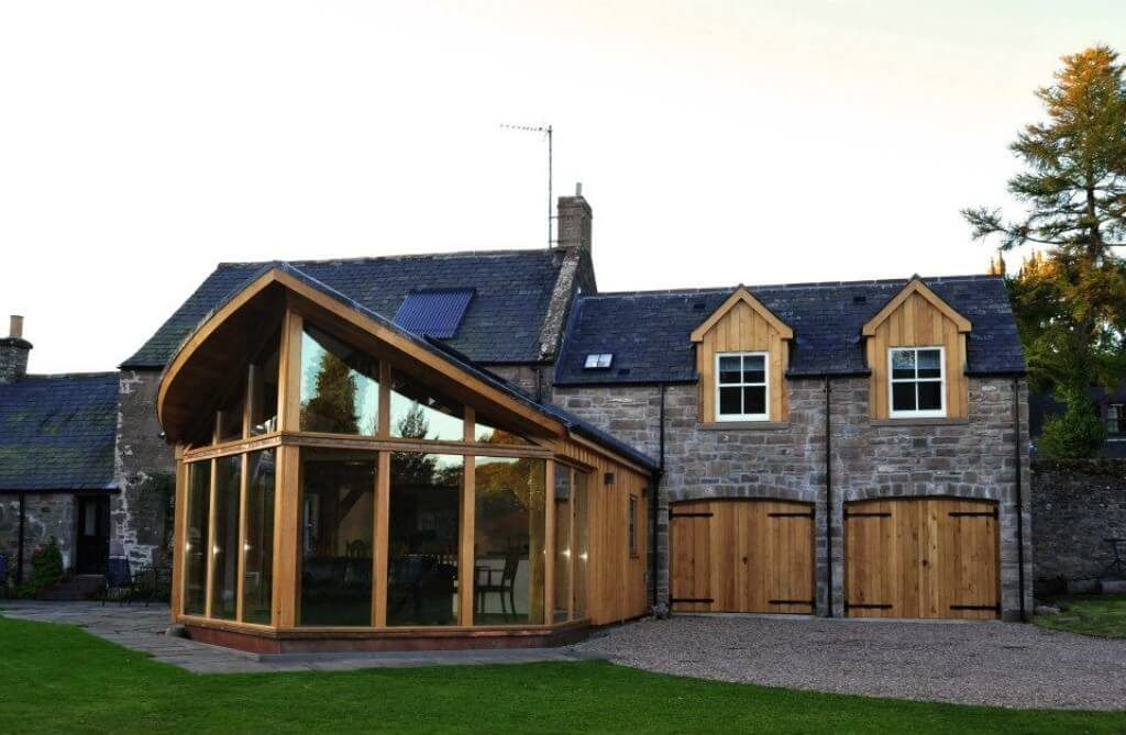 Extension in Brechin, best use of Timber award (5)