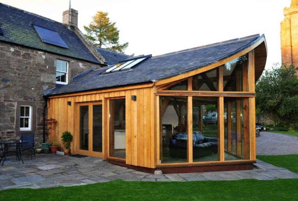 Extension in Brechin, best use of Timber award (6)