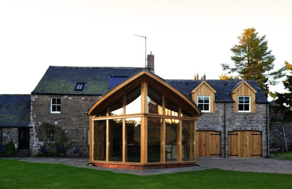 Extension in Brechin, best use of Timber award (7)