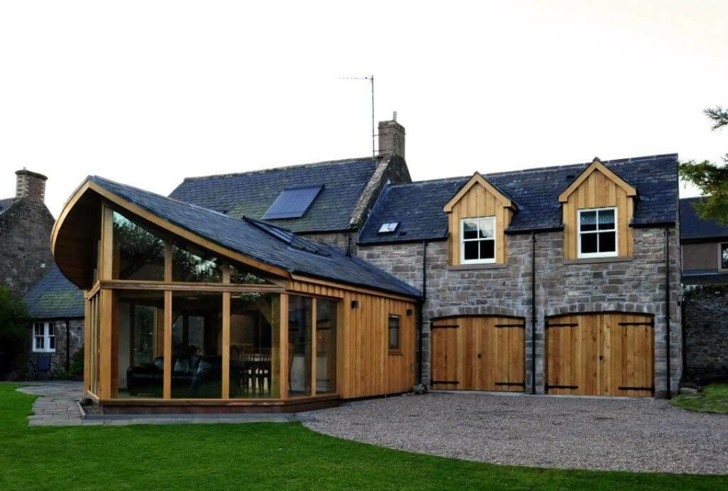 Extension in Brechin, best use of Timber award (9)